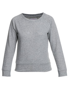 Lizzy Celinda Crew Sweater Grey