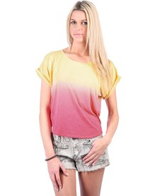 Lizzy Aspen Top Yellow