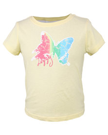 Lizzy Space Ghost SJ Basic Tee Yellow
