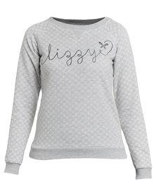 Lizzy Eugenie Crew Sweater Grey
