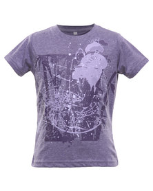 Lizzy Sheray Melange SJ Basic Tee Purple