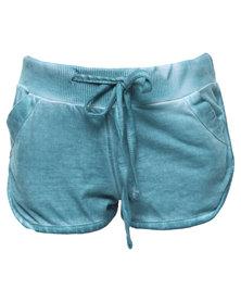 Lizzy Rockjumper Elasticated Walkshorts Turquoise