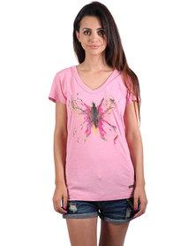 Lizzy Callista T-Shirt Pink