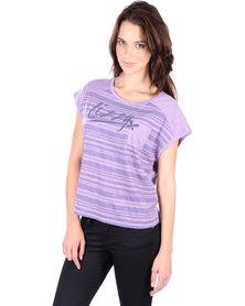 Lizzy Blythe T-shirt Purple
