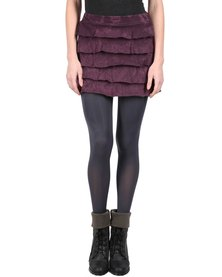Lizzy Pauline Mini Skirt Purple