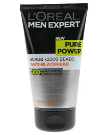 L'Oreal Men Expertise Pure Power Anti-Bacterial Face Scrub 150ml