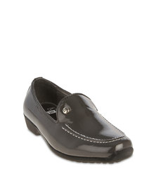 Luciano Rossi Classic Dress Shoes Grey