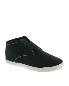 Luciano Rossi Chukka Lace Up Boot Black