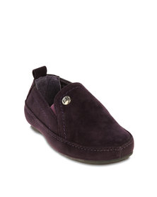 Luciano Rossi Kids Casual Loafers Purple