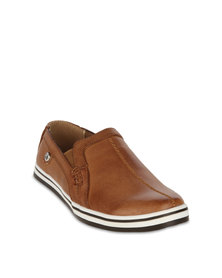 Luciano Rossi Kids Casual Shoes Brown