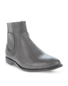 Luciano Rossi Simple Boots Grey