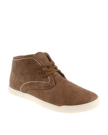 Luciano Rossi Chukka Lace Up Boot Brown