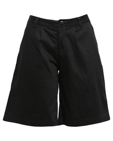 LUMIN Boy Shorts Black