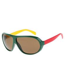 Lundun Multi Frame Shield Sunglasses Multi