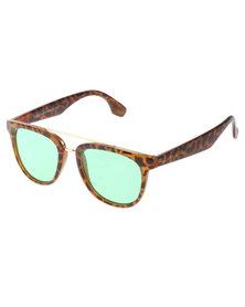 Lundun Bar Bridge Tortoise Sunglasses Brown