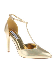 Madison Dwyn Heels Gold