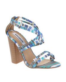 Madison Gemma Block Heel Blue