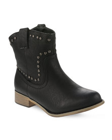 Madison Emma Ankle Boots Black