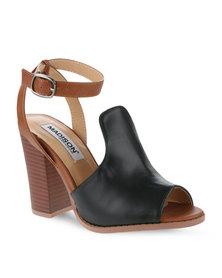 Madison Harlem Heels Tan/Black