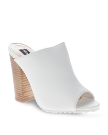 Madison Exclusive Milla Mule White