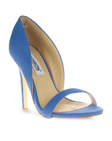 Madison Vega Heels Cobalt