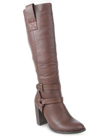 Madison Adelaide Boots Brown