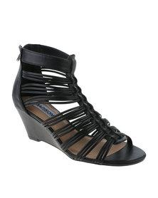 Madison Jaylinn Wedge Heel Black