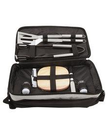 Marco Braai Set Cooler Bag Black/Grey