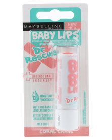 Maybelline Baby Lips  Dr Rescue Coral Crave