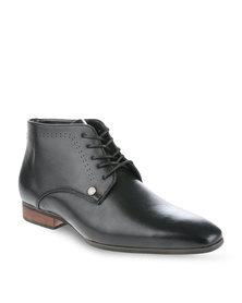 Mazerata Magio 2 Wax Ankle Boots Black