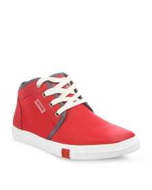 Mazerata Vanilla 5 Sneakers Red