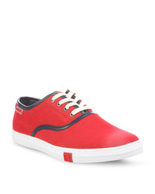 Mazerata Vanilla Sneakers Red
