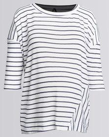 Me-A-Mama Sailor Stripe Square T-Shirt