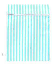 Melsbuzz Green and White Stripe Wet Bag