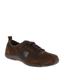 Merrell Tango Posh Lace Shoe Brown
