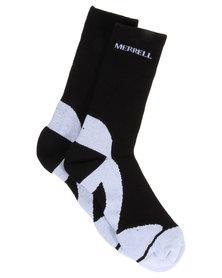 Merrell MTB Hi Socks Black