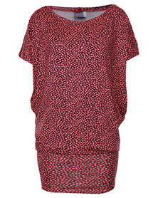 Michelle Ludek Jackie Dress with Dot Print Multi