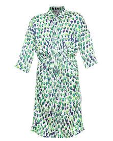 Michelle Ludek Exclusive Jesse Shirt Dress Multi