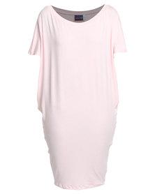 Michelle Ludek Jackie Dress Pale Pink