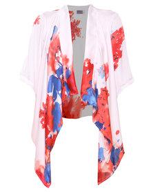 Michelle Ludek Kimono Printed Multi-Colour
