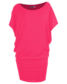 Michelle Ludek Jackie Dress Dark Pink