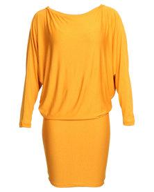 Michelle Ludek Wren Dress Yellow
