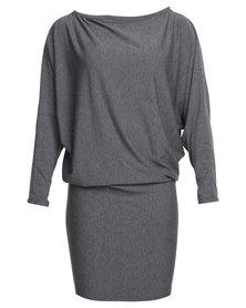 Michelle Ludek Wren Dress Grey