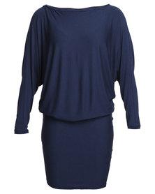 Michelle Ludek Wren Dress Blue