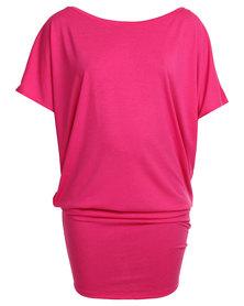 Michelle Ludek Jackie Dress Pink
