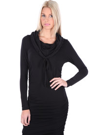 Michelle Ludek Blake Dress Black