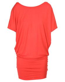 Michelle Ludek Jackie Dress Red
