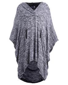 Michelle Ludek Pippa Hooded Top Grey