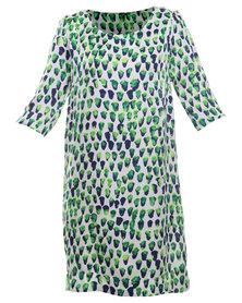 Michelle Ludek Exclusive Macy Dot Print Dress Multi