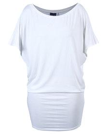 Michelle Ludek Jackie Dress White